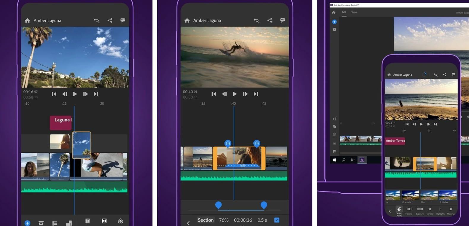 Adobe Premiere Rush 1