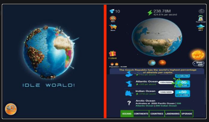 Idle World.